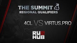4Clovers vs Virtus.Pro, game 1