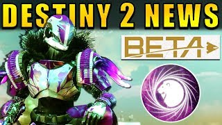 Showcasing the latest Destiny 2 News!Destiny 2 Voidwalker Reveal → https://www.youtube.com/watch?v=j_LGFdVWLRMToday we have a reveal of the new Sentinel Titan Subclass, with new Gameplay and a glower look at it's abilities!We also have the Pre-Download time for the Destiny 2 Beta, and the potential leak of a secret story mission!Source: https://www.youtube.com/watch?v=z6FYVuSDPT0--- Official Merch: https://shop.bbtv.com/collections/kackishd--- My Twitter: https://twitter.com/RickKackis--- My Twitch Channel: http://www.twitch.tv/kackishd/profile
