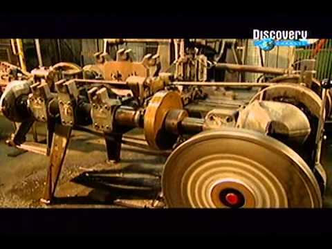 Discovery   Segredo das Coisas   Como se Fabrica Correntes de Aço