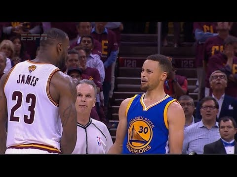 All Lebron James Fights Steph Curry,green,thompson