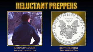 """Get set for a frank expose of: what's going on with silver and gold, how abandoning the gold standard and unbridled sovereign debt got us into the current state we are in, how market manipulations are causing historic distortions in the silver market and gold/silver ratio, and most significantly: what lies ahead for silver. Brother John F, former stockbroker, and widely followed host of BrotherJohnF.com """"Silver for the People,"""" returns to Reluctant Preppers to give us the surprising reason for whether we can have confidence that the bottom of silver prices is truly in place, and what's the most likely scenario this year for silver!==================Donate to Support ReluctantPreppers!Patreon.com/ReluctantPreppers orpaypal.me/ReluctantPreppersIN THIS INTERVIEW: =================Who is Brother John F?Where did Bother John F come from, what influenced his and why is he qualified to comment on commodities, and especially the silver market?Current Silver market action: Rob Kirby noted 50 Million oz smackdown in silver!James Turk: Noted that """"they"""" didn't really let anyone trade for physical silver at that low ($14) price point.Why accumulate physical silver?Silver smack-downs: Why at historic psychological breakpoints?Scarcity of Investable Silver vs. Gold?Why does China not export any silver they produce?Gold/Silver ratio distorted: When Will it Snap Back? First need real markets before gold/silver can defeat suppression, return to normal ratio.Are overdue for a catastrophic market correction?Crypto-Currencies:Are they truly acting as allies against fiat and central bank manipulations?Stock market outlook?When everybody's buying stocks, how long till there's going to be a crash.  Will most people be wiped out in the coming collapse?2017 Silver price target? What about 2018?==================================Subscribe (it's FREE!) to Reluctant Preppers for more ► http://bit.ly/Subscribe-FreeChannel graphics by http://JosiahJohnsonStudios.comPromotion by http://FinanceAndL"""