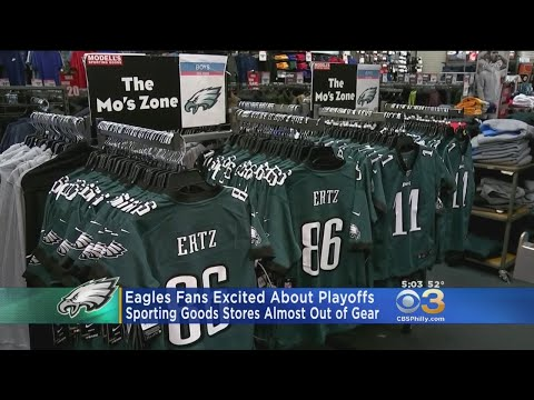 Eagles Fans Geared Up For Playoff Game Against Falcons