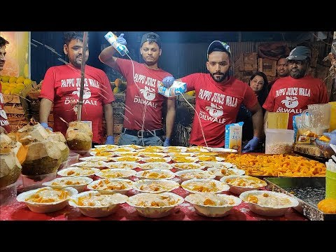 KING Of MANGO CREAM | Epic Shower Of Cream | Indian Street Food