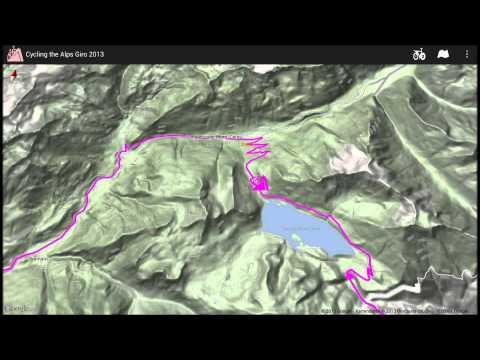 Video of Giro d'Italia routes 2013