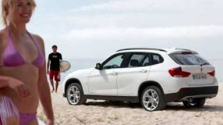 BMW X1 official music advert commercial and image slides