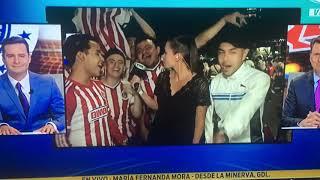 ACOSO A REPORTERA DE FOX SPORTS