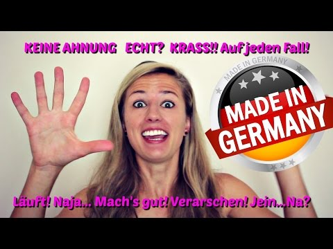 German Slang - 10 Words you won't find in any Textbook!