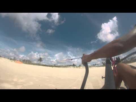 kite buggy - praia do frances  alagoas 2014  - Marron Franca