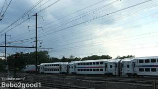 Rahway (NJ) United States  city photos gallery : NJ Transit & Amtrak Saturday Northeast Corridor Trains at Rahway, NJ RR