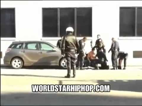 Footage Of San Francisco Police Shooting A Man In A Wheel Chair!(CAUGHT ON TAPE)