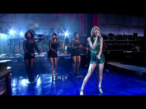 """Taylor Swift """"Welcome to New York"""" David Letterman"""