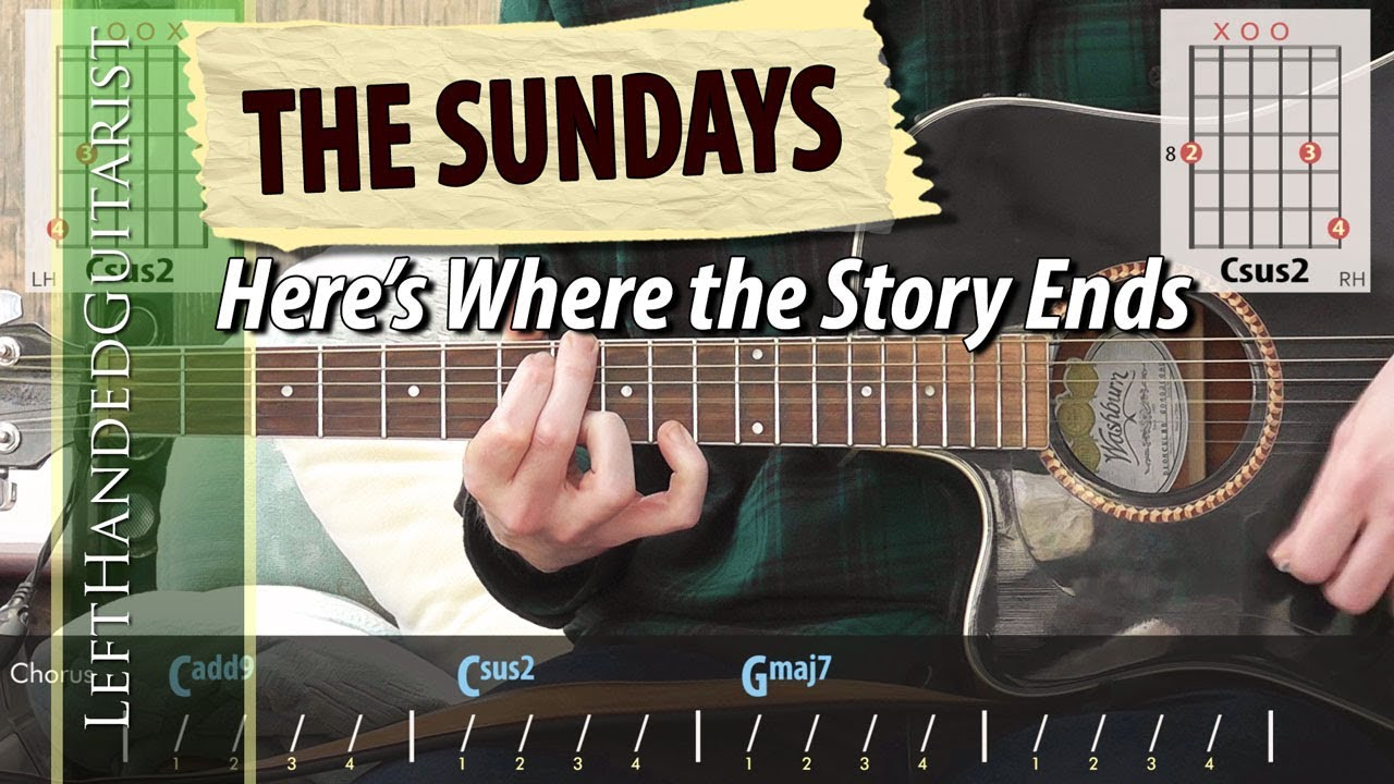 The Sundays – Here's Where The Story Ends | guitar lesson