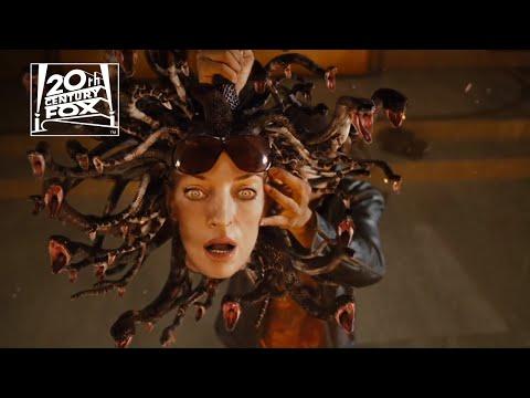 "Percy Jackson & the Olympians: The Lightning Thief | ""Medusa Hydra"" Clip | Fox Family Entertainment"