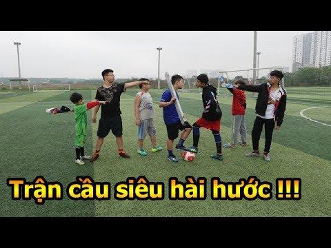 Thử Thách Bóng Đá xuất hiện Team Dybala đòi đánh bại team duy trung và trận cầu hài nhất Việt Nam - Thời lượng: 12 phút.