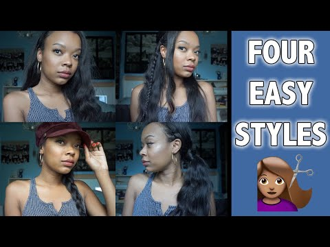 Back To School Hairstyles for Long Hair!  ft. Nadula Hair