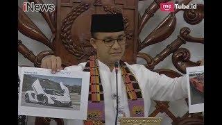 Geram!! Anies Buka-bukaan Dengan Pemilik Mobil Mewah yang Menunggak Pajak - iNews Sore 15/01