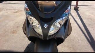 2. Suzuki Burgman 400 2013 AN400L3