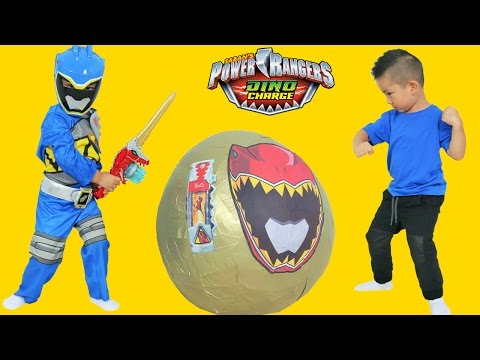 Video Power Rangers Dino Charge Super Giant Toys Surprise Egg Opening Ckn Toys download in MP3, 3GP, MP4, WEBM, AVI, FLV January 2017