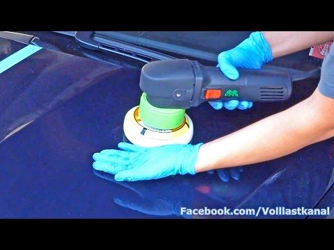 AUTO POLIEREN mit EXZENTER POLIERMASCHINE - KOCH CHEMIE SYSTEM Anleitung / How To Polish a Car