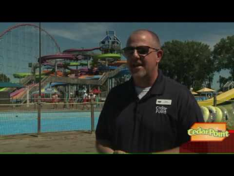 Cedar Point to rename and expand water park (видео)