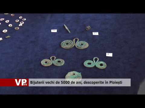 Bijuterii vechi de 5000 de ani, descoperite în Ploiești