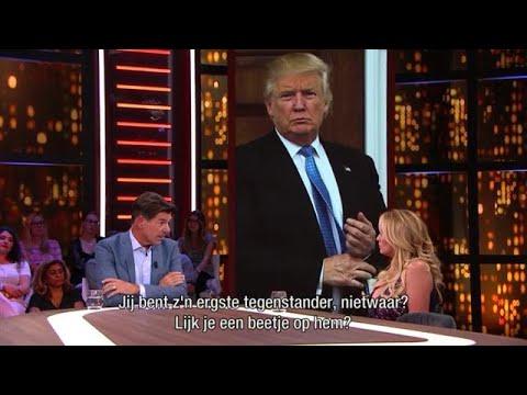 Stormy Daniels vreest dat rechter Trump zijn kant kiest  - RTL LATE NIGHT MET TWAN HUYS