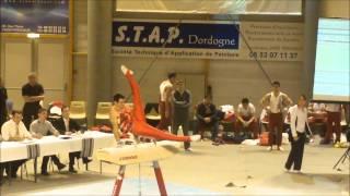 Boulazac France  City new picture : 1/2 finale Coupe de France de Gymnastique à Boulazac