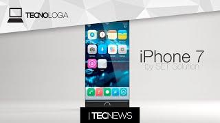 Veja como poderia ser o iPhone 7 / Microsoft pode comprar a AMD | TecNews, iPhone, Apple, iphone 7