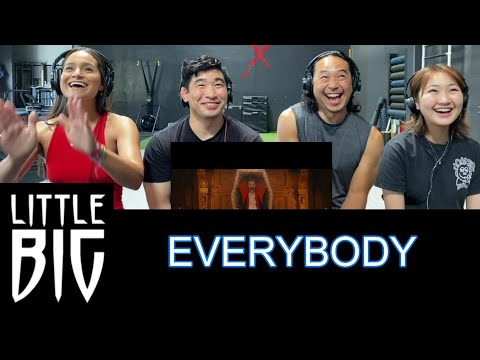 LITTLE BIG - EVERYBODY (Little Big Are Back) - Reaction