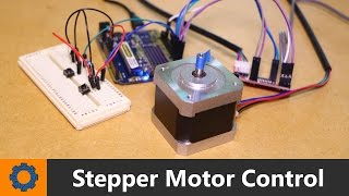 In this video I show you how to control a stepper motor using an Arduino and a couple of buttons.Project Page: https://goo.gl/JTWRTgWebsite: http://www.mrhobbytronics.com/Facebook: https://www.facebook.com/MrHobbytronicsTwitter: https://twitter.com/MrHobbytronics