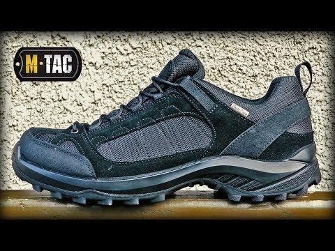 Відео огляд кросівок M-Tac Tactical Sneakers Black