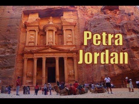Visiting Petra Jordan