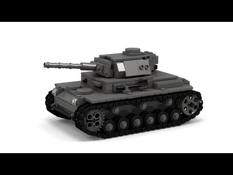 Lego Panzer III, WW2 Instructions