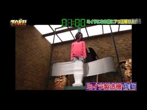 日本綜藝節目 直接把活人變成木乃伊