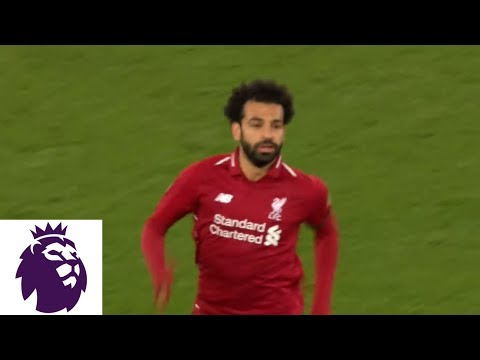 Mohamed Salah Scores Off Looping Shot Against Huddersfield | Premier League | NBC Sports