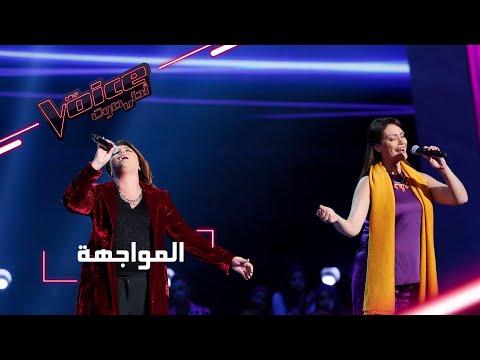 """""""المواجهة المباشرة"""" بين شيماء عبد العزيز وهالة المالكي في The Voice"""