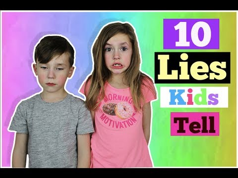 10 LIES Most Kids Tell to Their Parents