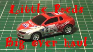 Little Red is a 1:68 scale Revell Coke Can Car that's over 5 years old and in this vid it gets an over haul. This is a HOW TO DO YOUR SELF VID   I show how to do a motor swap and also a lipo install.This is the tech talk from the vids On the limit pt1 and pt2 Please enjoy !