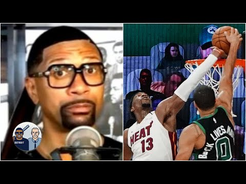 Jalen Rose reacts to Bam Adebayo's block on Jayson Tatum | Jalen & Jacoby