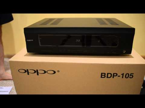 oppo bdp-105 opening box video