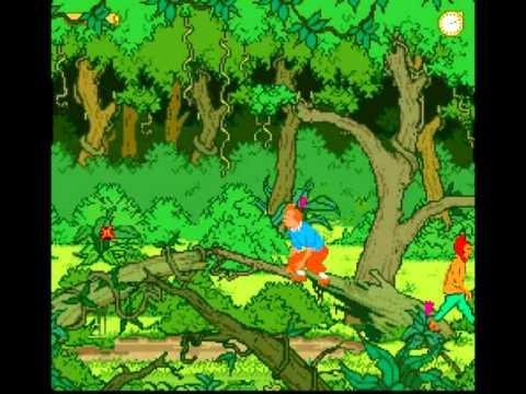 Tintin : Le Temple du Soleil Super Nintendo