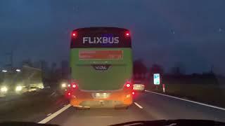 Kierowca autobusu stracił pracę po tym jak blokował karetkę na A4