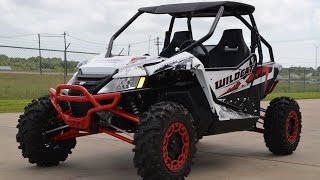 6. $17,499:  2015 Arctic Cat Wildcat X Limited in Matte White Overview and Review