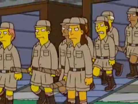 Simpsons  Lord of the rings spoof