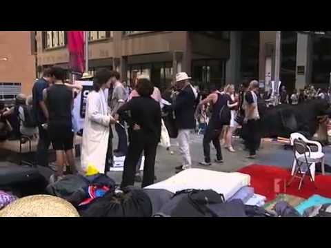 Occupy Sydney swells in CBD – ABC News report