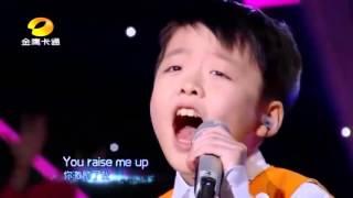Celine Tam & Jeffrey Li Signing You Raise Me Up.