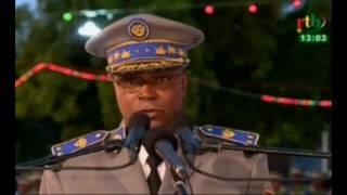 Le president du Burkina Faso prend part a la cérémonie de la sortie de la 16eme promotion