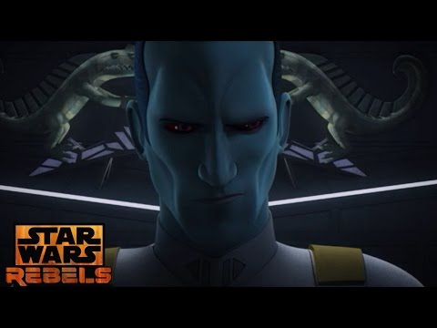 Star Wars Rebels:Thrawn Knows Agent Kallus Is Fulcrum ( Thrawn's Best Scene Yet)