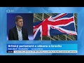 Petr Mach - Studio ČT24 o brexitu i vystoupení ČR z EU
