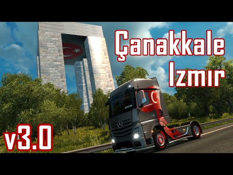 Turkey Map for promods v2.02 version 1.23.x